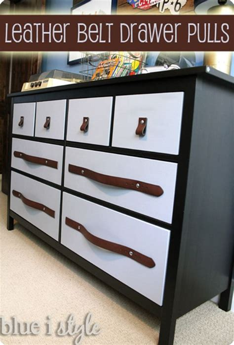Belt Drawer by Furniture Refabs Add Character To A Dresser Or