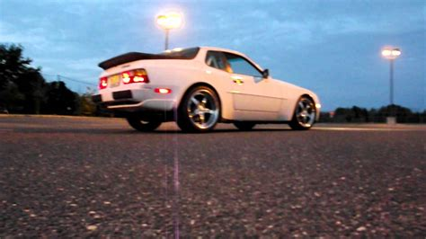 drift porsche 944 porsche 944 burnout drift youtube