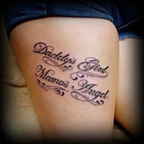 tattoo daddy s girl in memory of a loved one the quote for my angles always