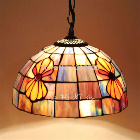 stained glass kitchen lighting antique tiffany style seashell pendant l dinning room