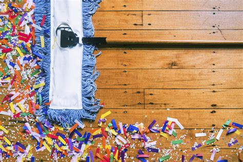 party clean post party cleanup tips and tricks the neighborhood