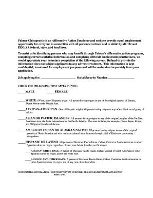 Fillable Eeo Voluntary Self Identification Form Fill Affirmative Voluntary Self Identification Form Template