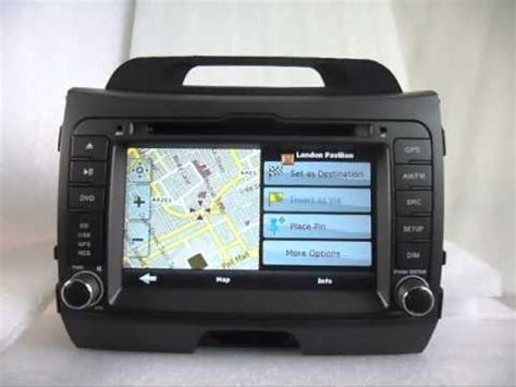 transmission control 2010 kia rio navigation system install dvd navigation tv system for your kia sportage 2011 2012 youtube