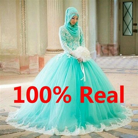 islamic wedding dresses with hijab for sale   Google