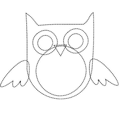 construction paper owl template 17 best images about appliqu 233 birds on bird