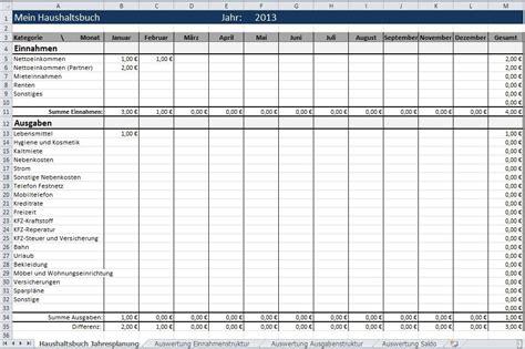 excel vorlage haushalt ausgaben einnahmen ausgaben excel vorlage privat download vorlagen