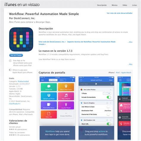 apple workflow apple hace gratuitas sus aplicaciones imovie garageband y