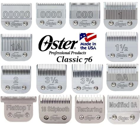 oster classic 76 clipper blades oster cryogen x classic 76 blade fit a5 andis ag bg
