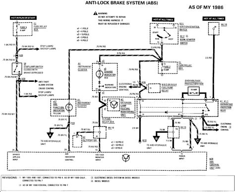 mercedes abs diagram