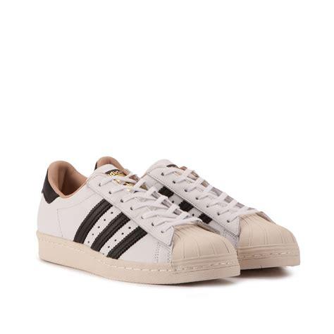 adidas superstar adidas superstar 80s w white black by2957