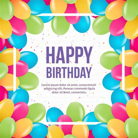 happy birthday background design vector happy birthday vector illustration photoshop vectors
