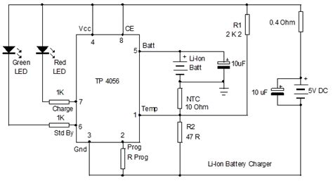 lithium battery charger schematic li ion charger schematic circuit li free engine image