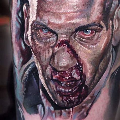 tattoo on shane s chest walking dead 1000 images about the walking dead tattoos 2 on pinterest