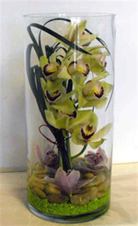 Flower Arrangements Inside Glass Vases by Modern Flower Arrangements