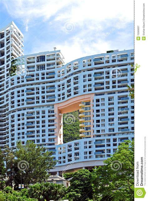 hong kong appartment appartment house in hong kong royalty free stock