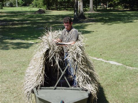 duck blind with boat hide jon boat duck blind plans portable hunting blinds and