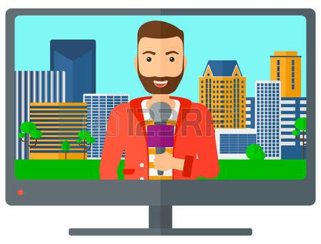 color tv broadcast tv clipart tv broadcasting pencil and in color tv