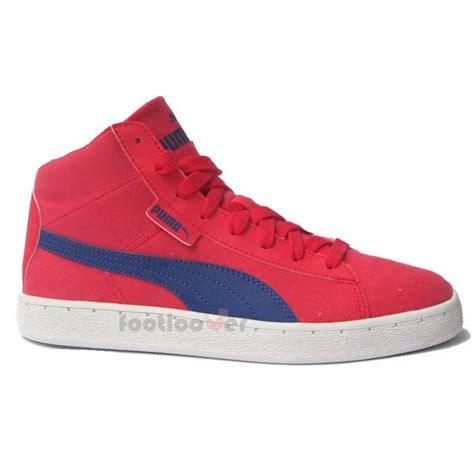 Jr Shoes Brand Original Bhn Kanvas shoes 48 mid canvas jr 358202 03 sneakers