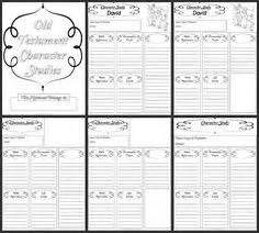 Free old testament character study notebooking pages more