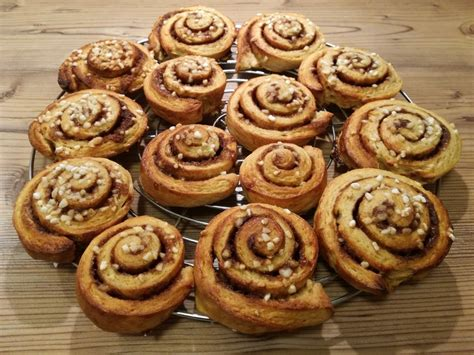 zimtschnecken kuchen rezept schwedische zimtschnecken rezept mit bild mjudge