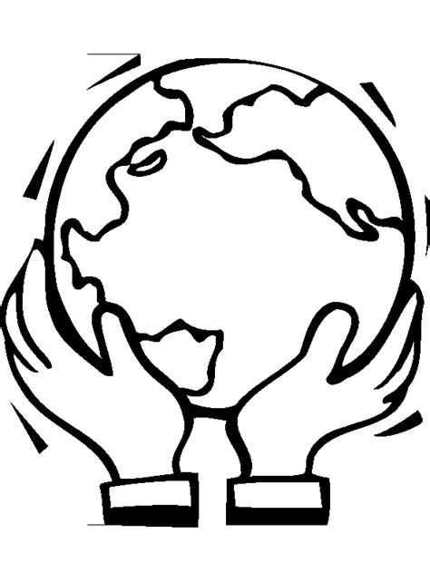 Save Earth Coloring Pages Save The Earth Coloring Pages