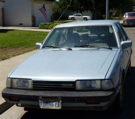 auto air conditioning service 1987 mazda 626 lane departure warning purchase used 1987 mazda 626 dx sedan 4 door 2 0l in santa maria california united states for