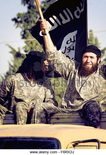 islamic state of iraq and the levant isis isil fighters isis raqqa stock photos fighters isis raqqa