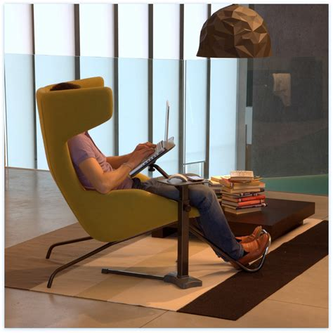 Living Room Chair With Neck Support Lounge Book Standard Table Basse Pour Ordinateur Portable