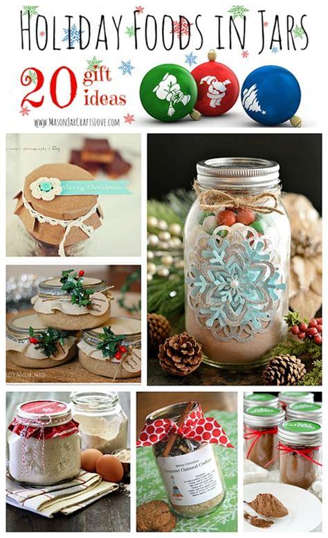 holiday gifts food in jars mason jar crafts love