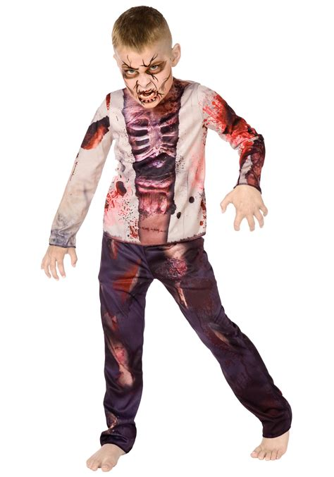 amazon zombie costume scary zombie kid costume boys gory zombie costumes