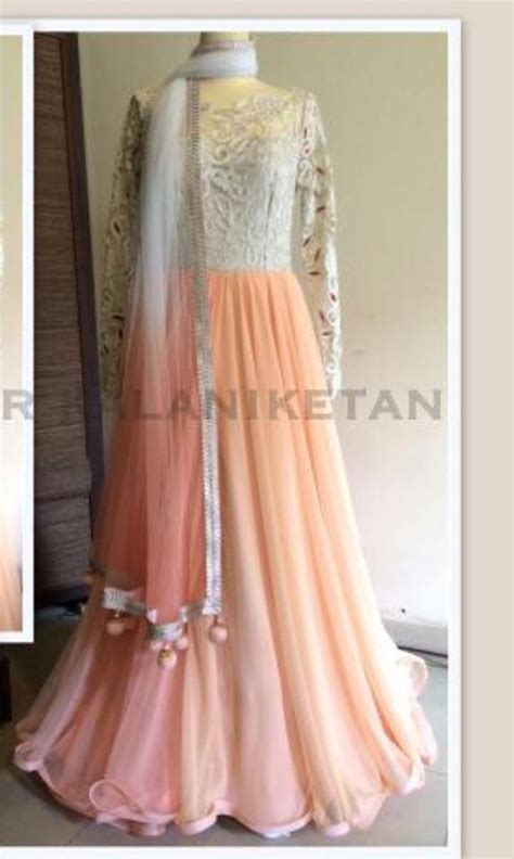 New Pishwas Dresses Long Anarkali Frocks Designs 2018 19