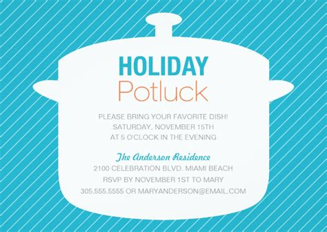 christmas potluck email invitation 10 potluck invitations
