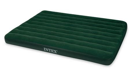 queen sized flocked inflatable air mattress