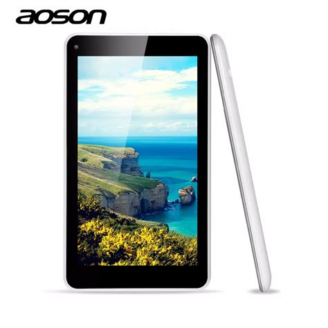 android 7 inch tablet cheap aoson m751s 7 inch android tablet pc allwinner a33 512m 8g dual cameras android