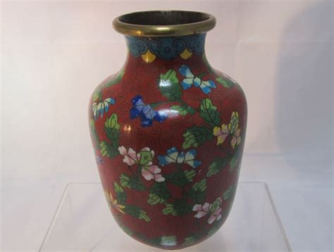 Cloisonne Vase by Pair Cloisonne Vases From Thesteffencollection On