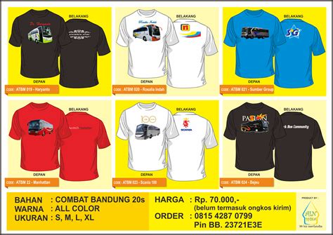 Kaos Baju Tshirt Bis 99 aindhika merchandise katalog t shirt bis terbaru