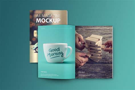 Magazine Set set of magazine mockups mockupworld