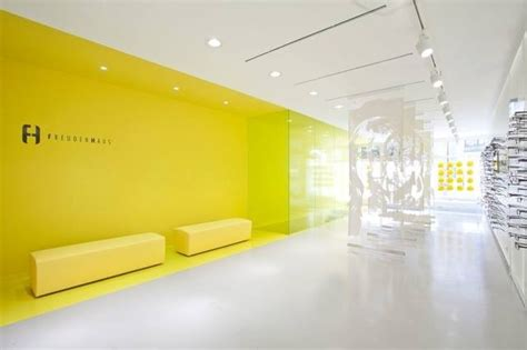 17 best images about optical store design on waiting area optician and frame display