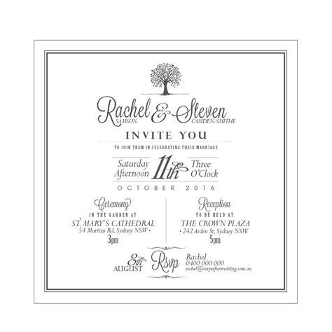 Square Clear Acrylic Wedding Invitations Weengrave Square Wedding Invitation Template