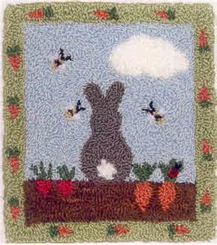 pattern making rabbit punch punchneedle designs 6