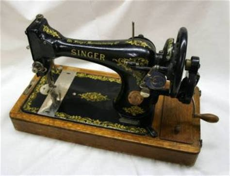 Mesin Jahit Tangan my antique world the history of sewing machines