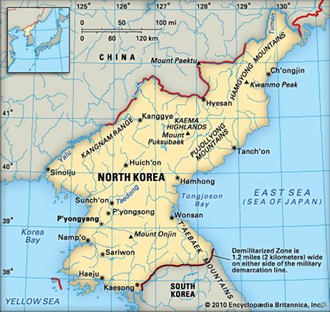 5 themes of geography north korea geography of korea