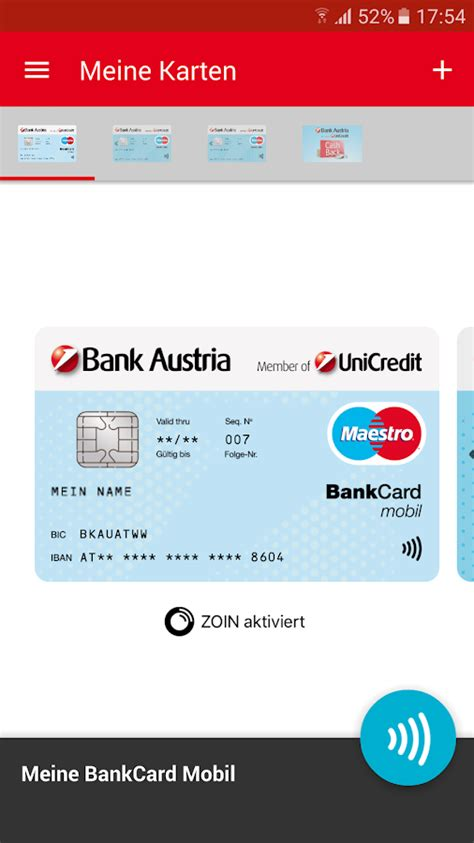 bank austria karten bank austria mobile geldb 246 rse android apps on play