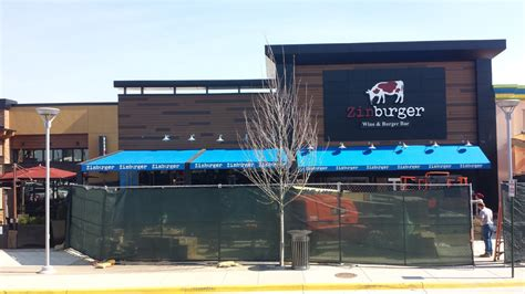 Sign And Awning Systems by Zinburger Wine Burger Bar Springfield Va Dms Sign