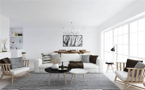 The Elegant And Minimalist Ideas Of Black And White Living Black And White Living Room Decorating Ideas