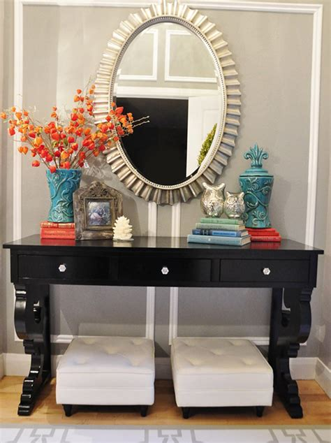 foyer table decor ideas ideas of striking entryway decor