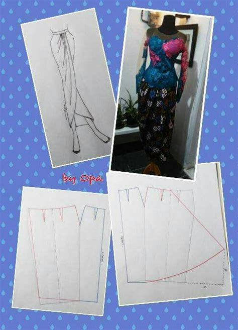 Rok Mermaid Duyung Batik 61 best images about pola baju kurung moden on kaftan style kebaya and skirt tutorial