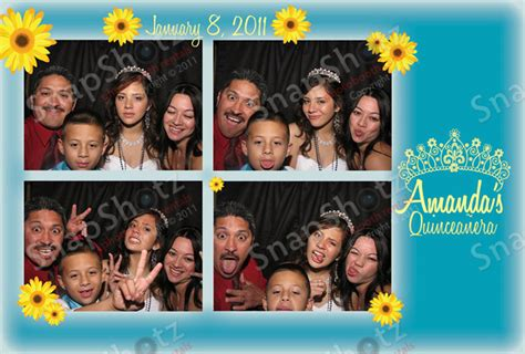 Custom Photo Booth Graphics And Print Sles For Weddings Snapshotz Photobooth Rentals Quinceanera Photo Booth Template