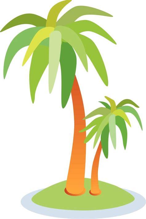 Tall Cartoon Tree   Free Clipart