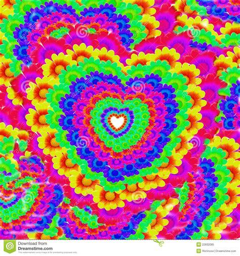 imagenes alegres de colores corazones y fondo coloridos de las flores stock de